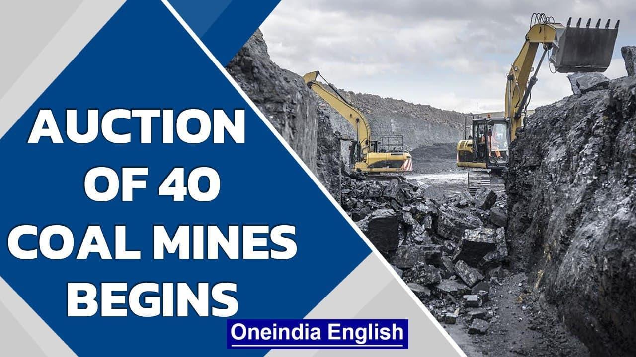 Modi Government starts auction of 40 coal mines | Oneindia News