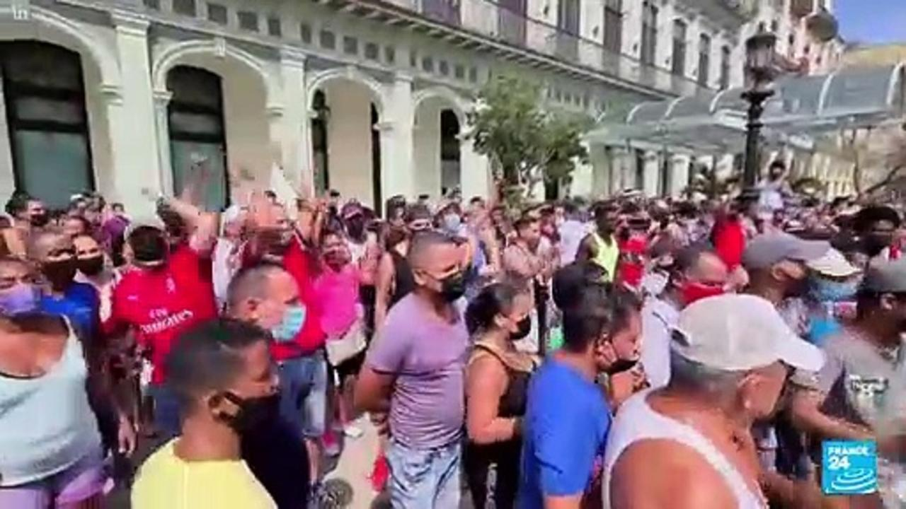 Cuban government bans bid for new opposition marches