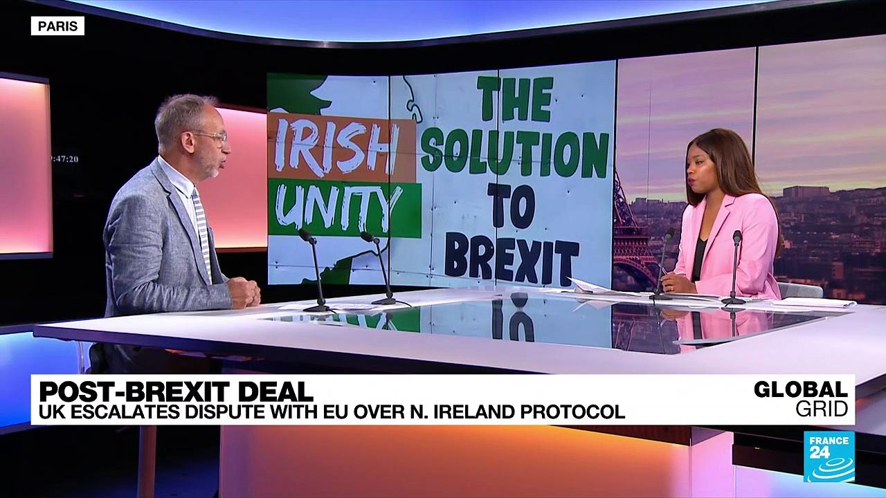 Post-Brexit deal: UK escalates dispute with EU over N. Ireland protocol