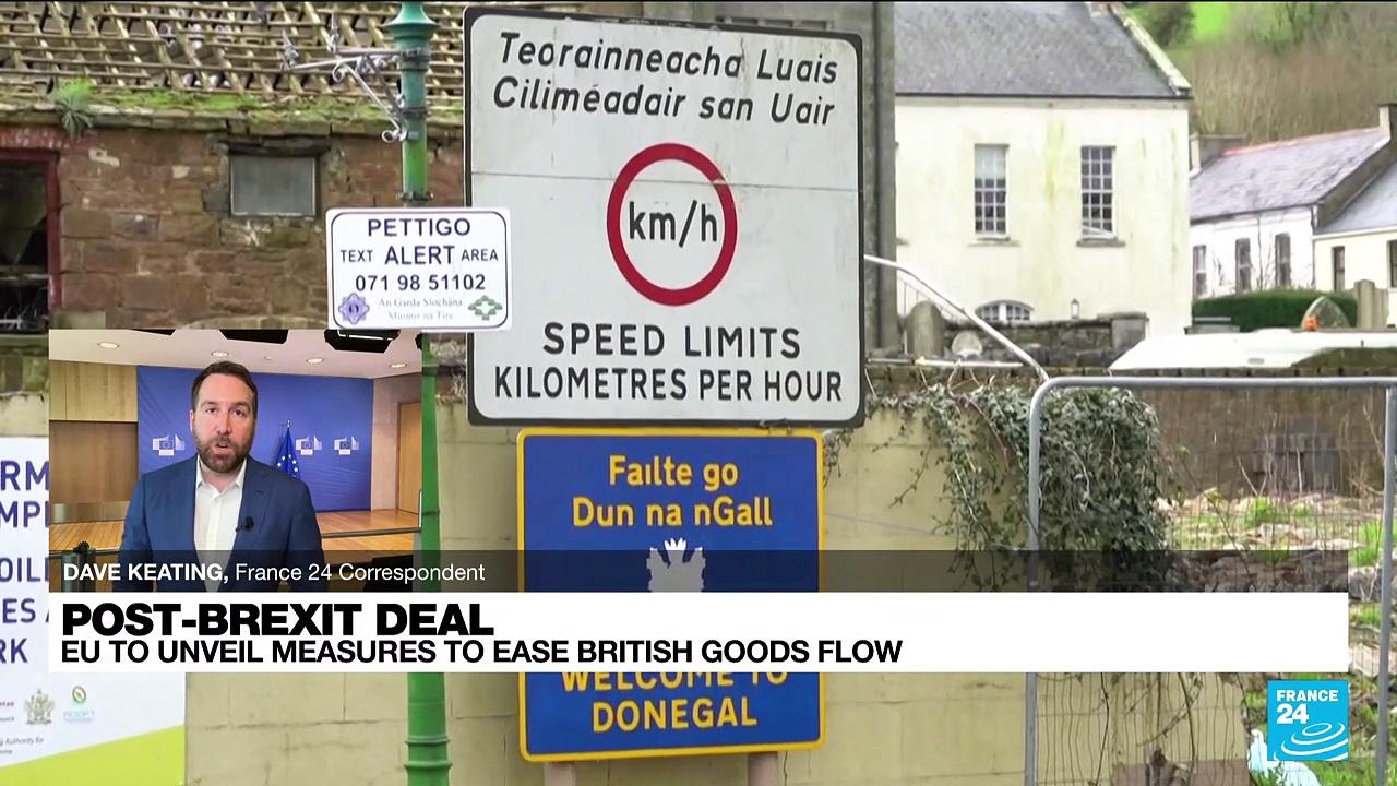 EU to unveil measures to ease British goods flow to N. Ireland
