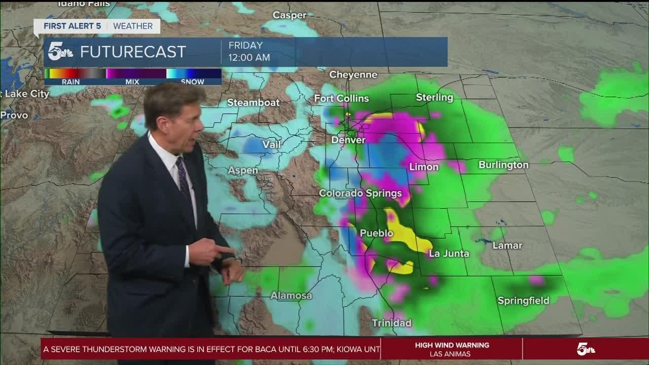 Pikes Peak Region freeze possible tonight; sunny & warmer Wednesday