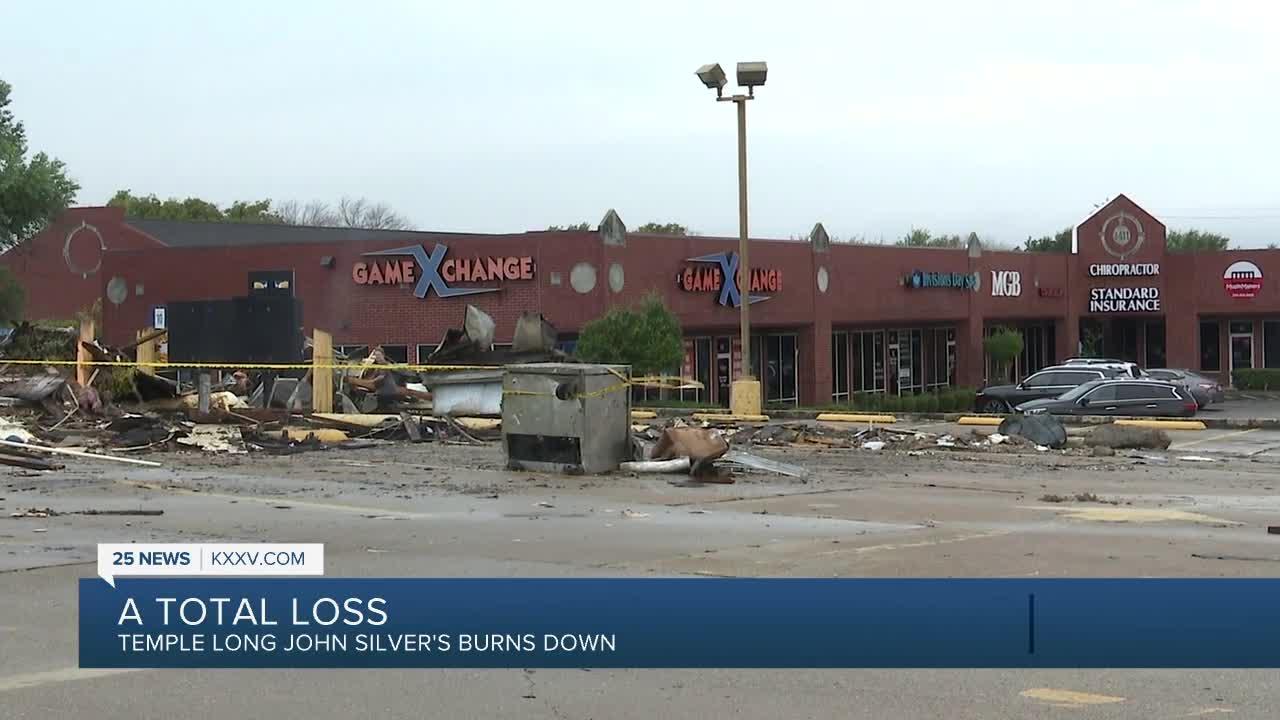 Temple Long John Silver's Burns Down