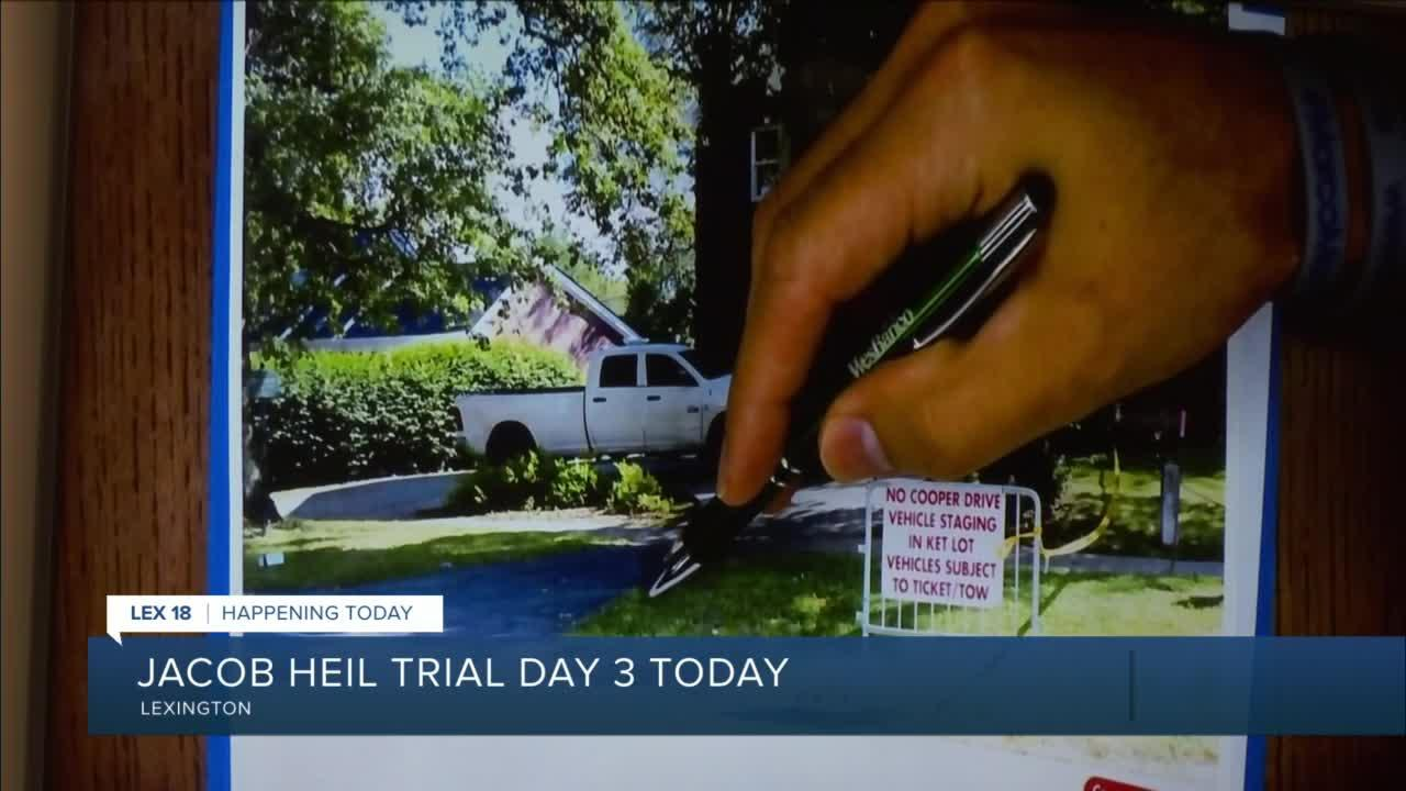 Jacob Heil trial continues into day three
