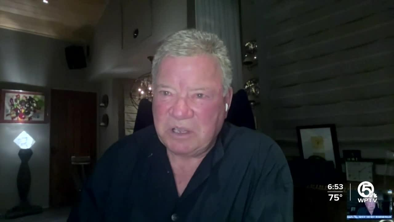 William Shatner ready to boldly go to space today