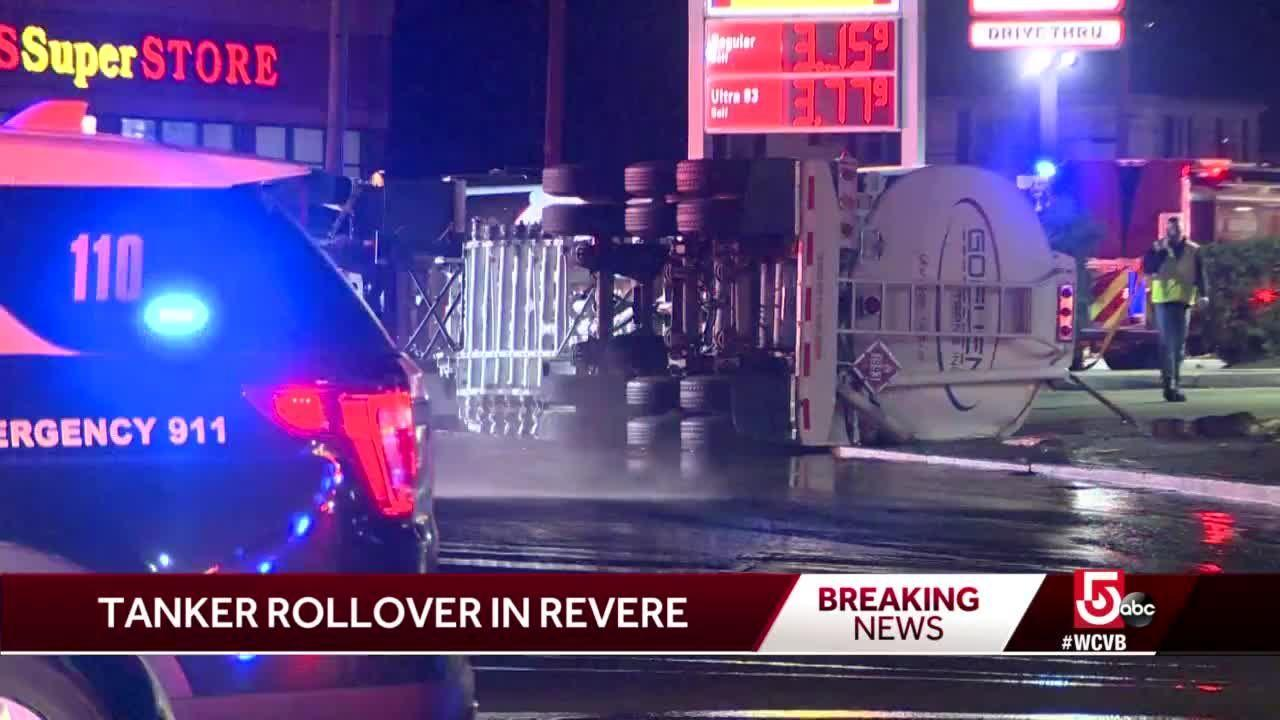 Road repairs needed after tanker rollover