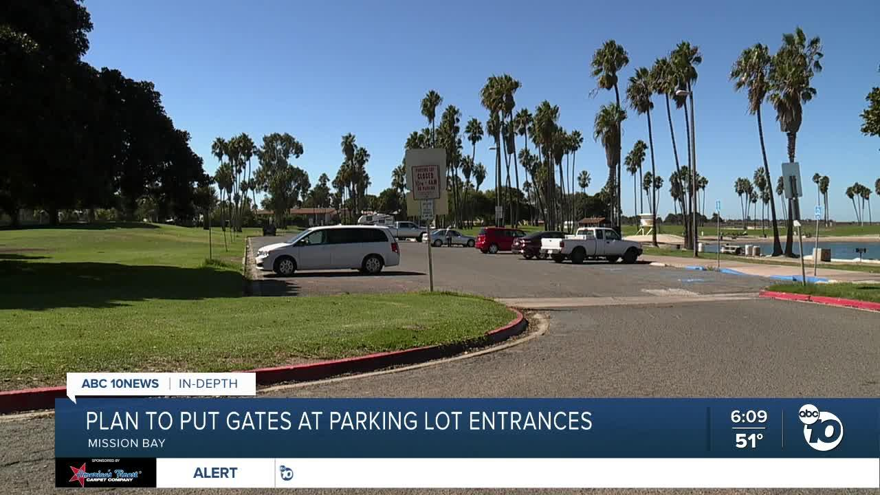 City of San Diego plans to end all overnight parking in Mission Bay