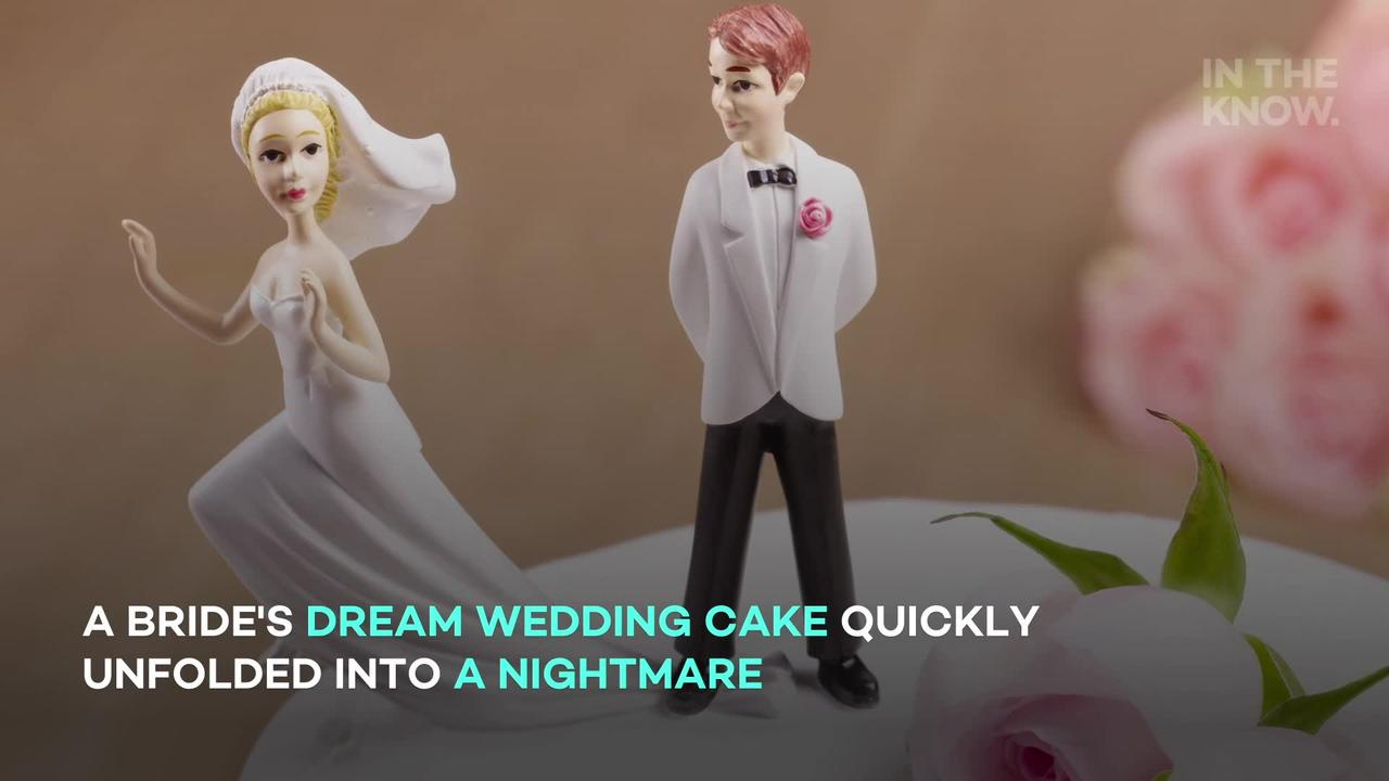 Bride's $500 wedding cake turns into a 'baking fail': 'I would be in shambles'