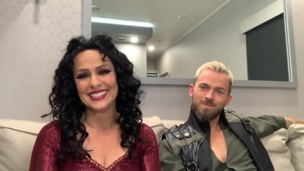 Melora Hardin, Artem Chigvintsev React To Receiving First '10' On 'DWTS' Season 30