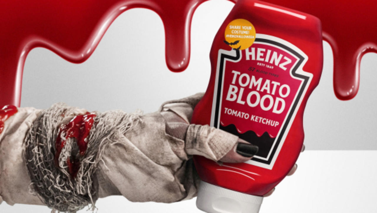 Heinz Releases Limited-Edition Tomato Blood Ketchup Just in Time for Halloween
