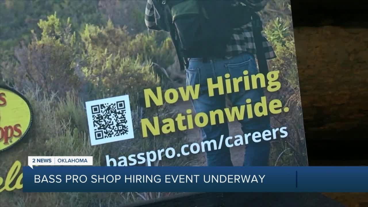 Bass Pro Shops hosts massive hiring event for the holiday season