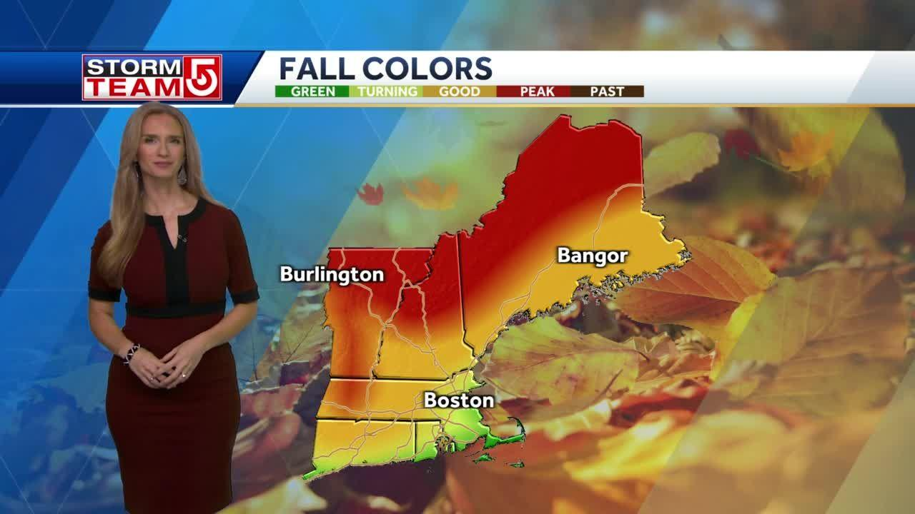 Weekly New England foliage forecast: Colors progressing in western Mass.