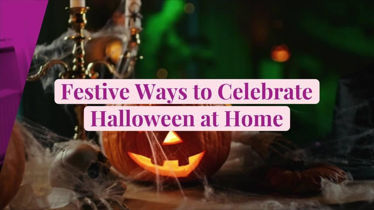 11 Festive Ways to Celebrate Halloween at Home