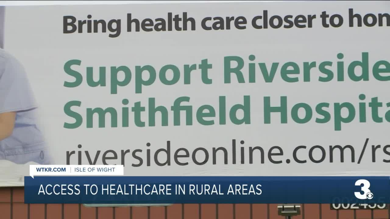 Access to healthcare in rural areas