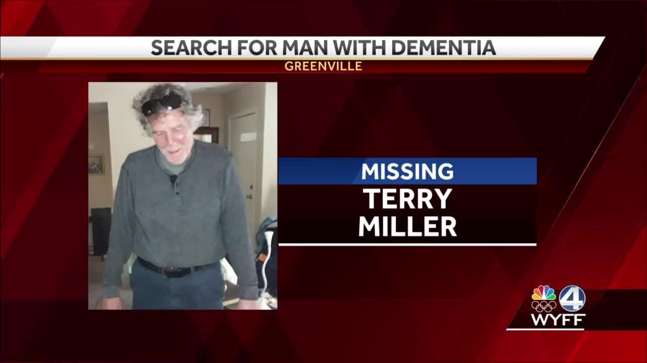 Greenville police ask for help finding man with dementia