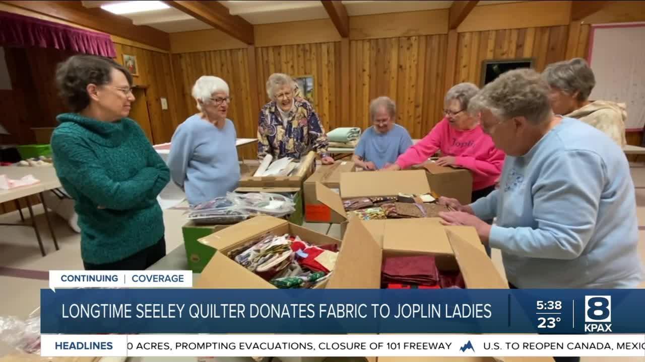 Joplin quilters get a surprise donation