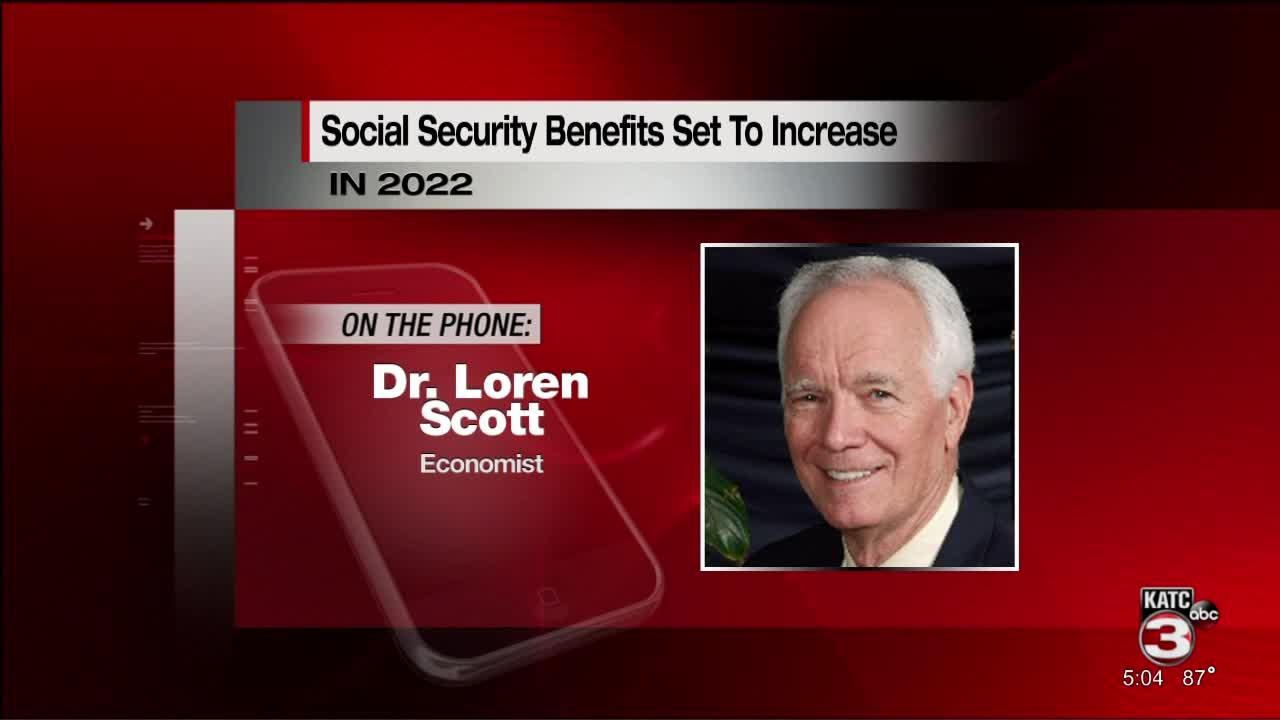Changes to Social Security benefits come 2022