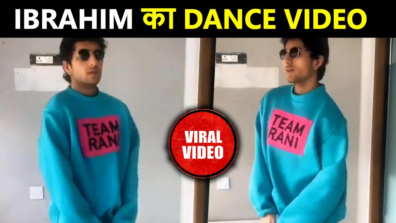 Saif's Son Ibrahim Ali Khan's UNSEEN Dance Video Viral   Rocky Aur Rani Ki Prem Kahaani