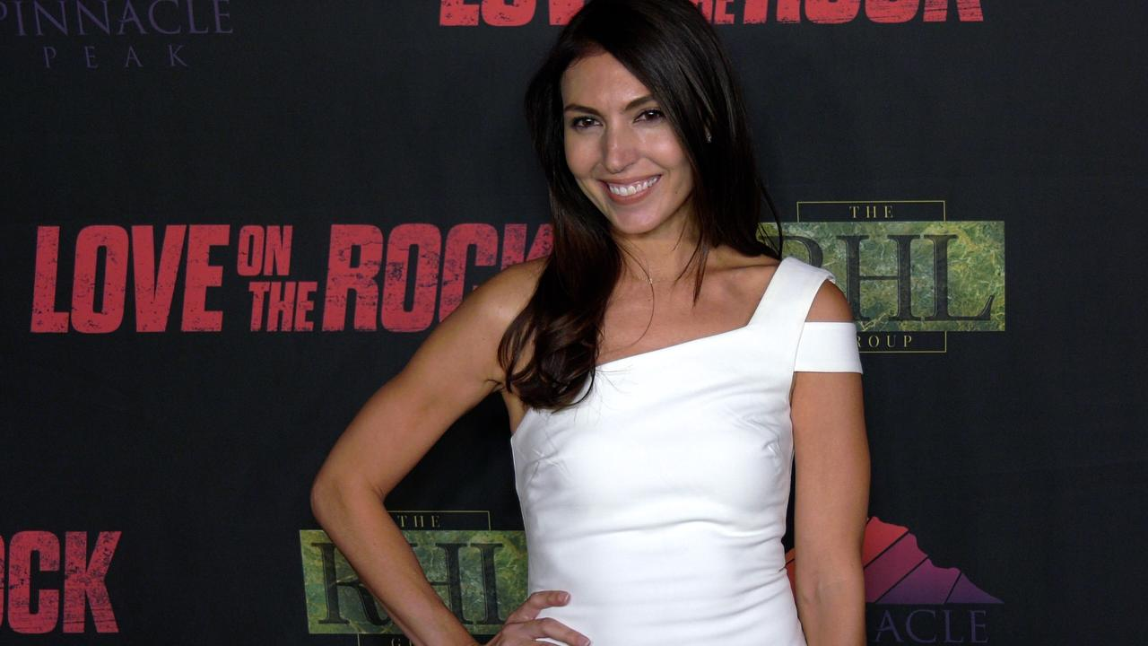 Liesel Hlista attends the 'Love on the Rock' Red Carpet Premiere in Los Angeles