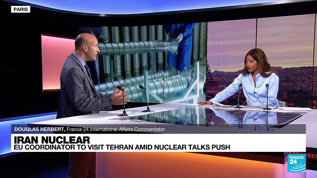 Iran nuclear: EU coordinator to visit Tehran amid nuclear talks push