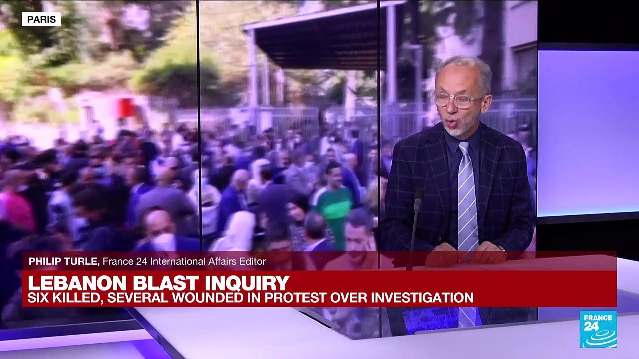 Lebanon blast inquiry: Six killed, several wounded in protest over investigation