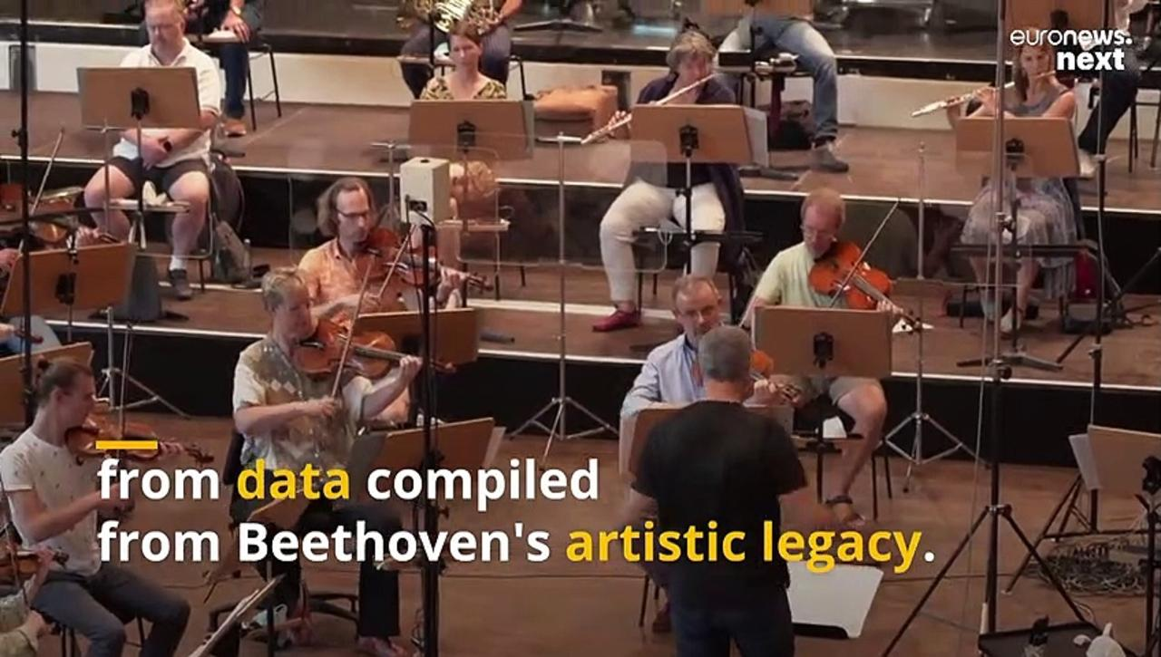 After more than two centuries, Beethoven's 10th Symphony has been completed by an AI