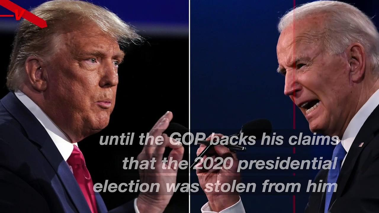 Trump Says Supporters Won't Vote in the '22 or '24 Elections Until His Election-Fraud Theories Are Validated