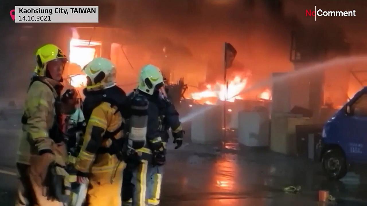 Fire kills 14 people, injures 51 in southern Taiwan