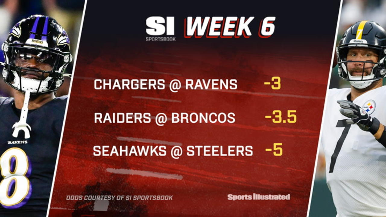 NFL Week 6 Sunday Betting Preview