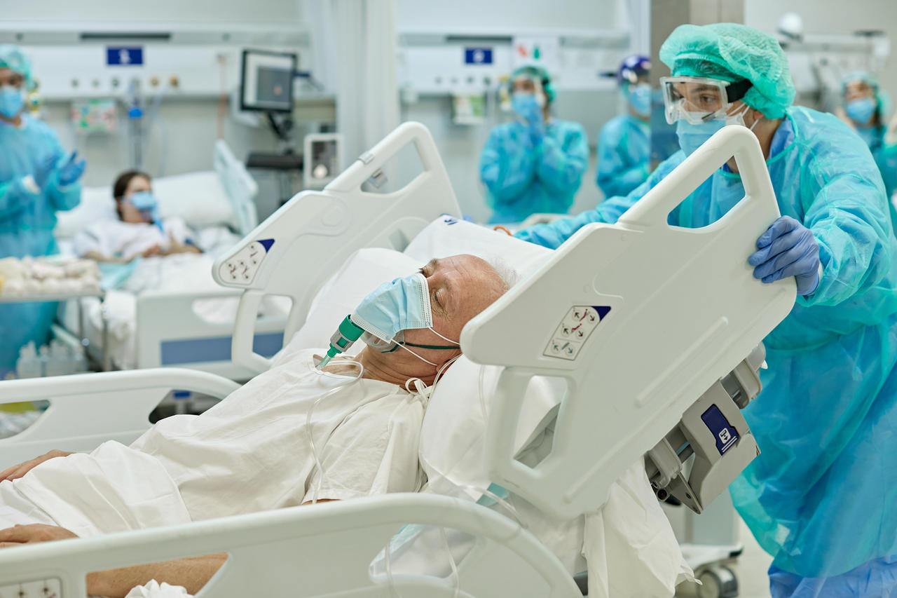COVID-19 Deaths and Hospitalizations Expected to Decline Over Next Month