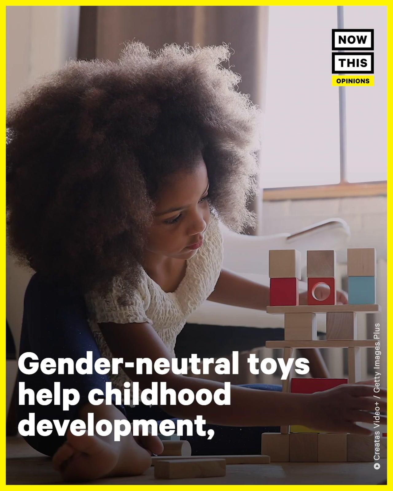 Development Psychologist Breaks Down Benefits of Gender Neutral Toys