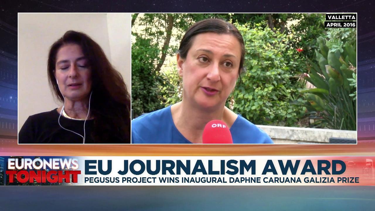 Pegasus Project consortium wins first Daphne Caruana Galizia journalism prize