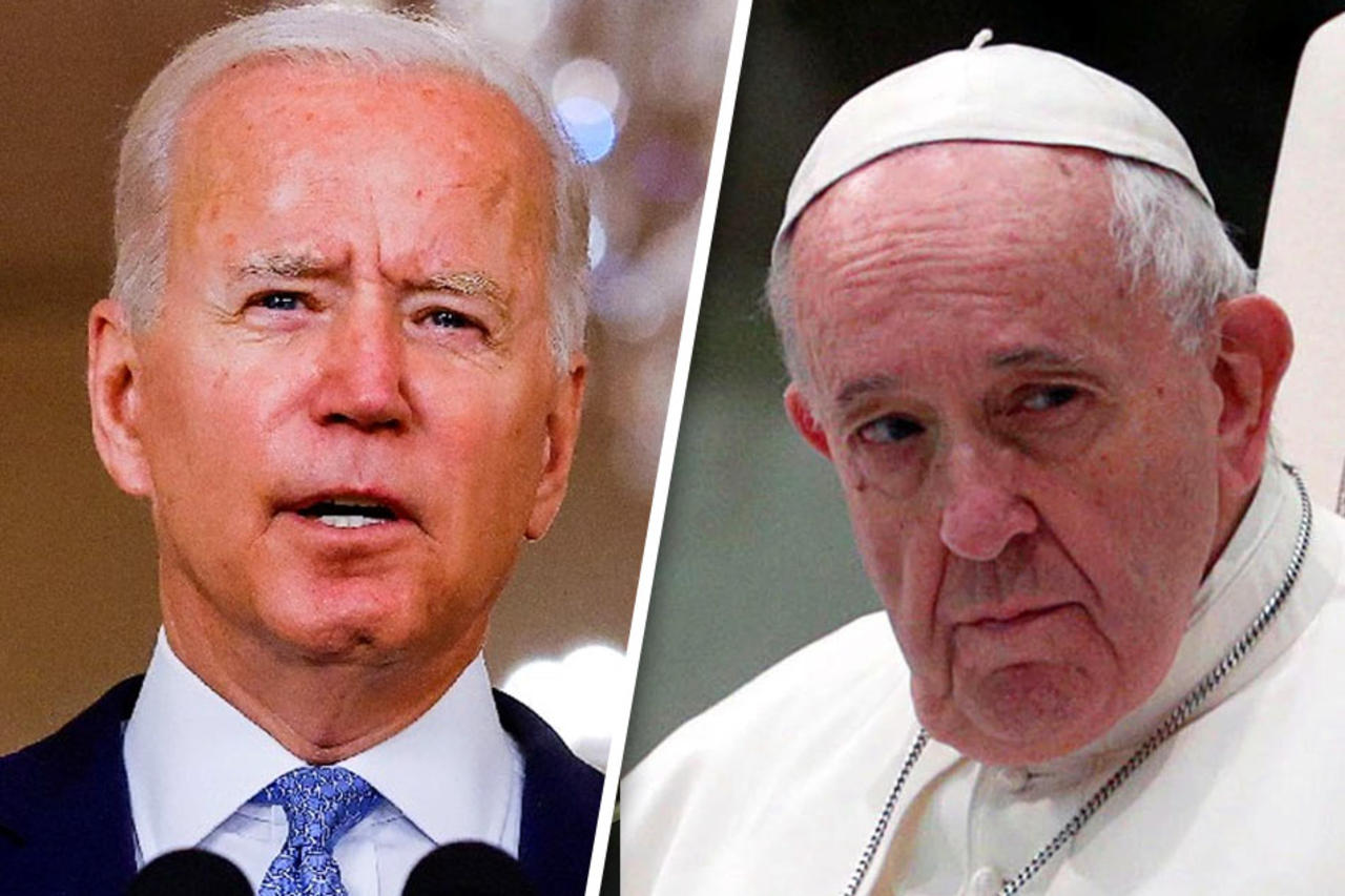 President Biden Set To Meet With Pope Francis