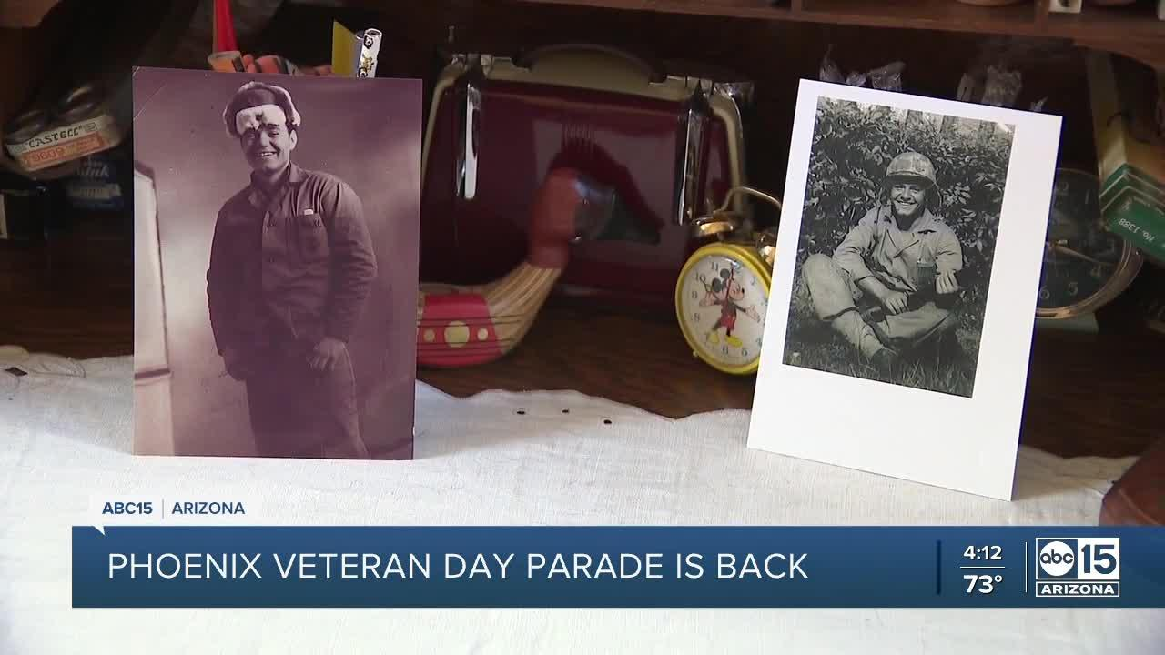 Phoenix Veterans Day Parade returns in November after a year off