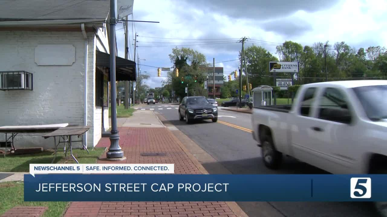 Business owner worries about gentrification if Jefferson Street Cap Project proceedsThe idea is to reconnect North Nashville, a