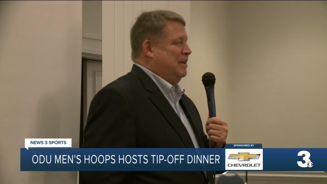 ODU men's basketball hosts Tip-Off Dinner