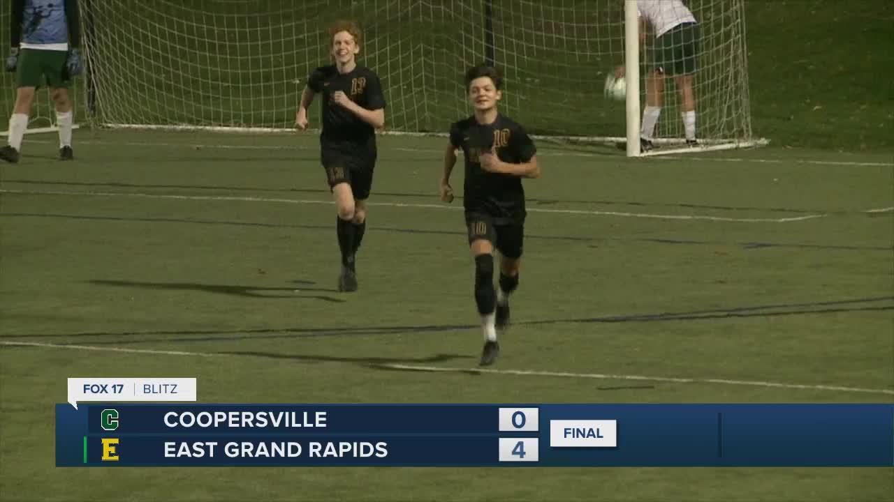 East Grand Rapids 4, Coopersville 0
