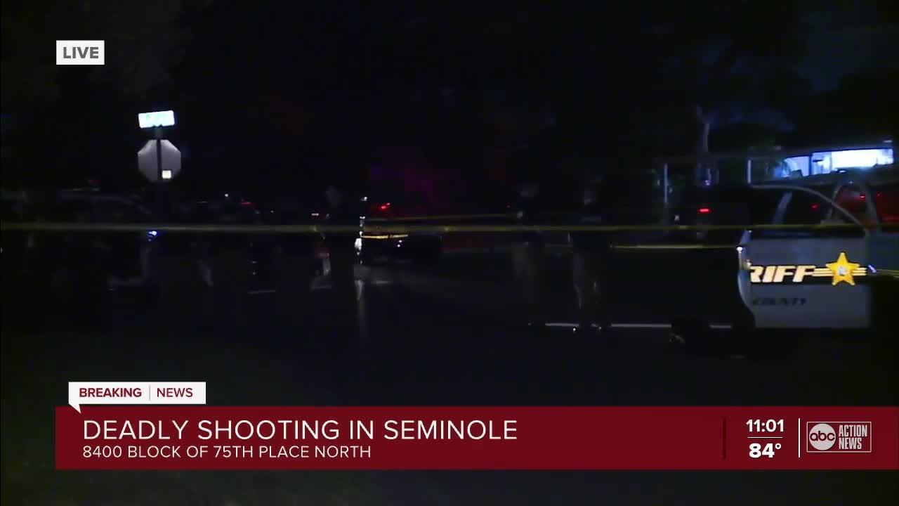 Pinellas deputies investigating deadly shooting in Seminole