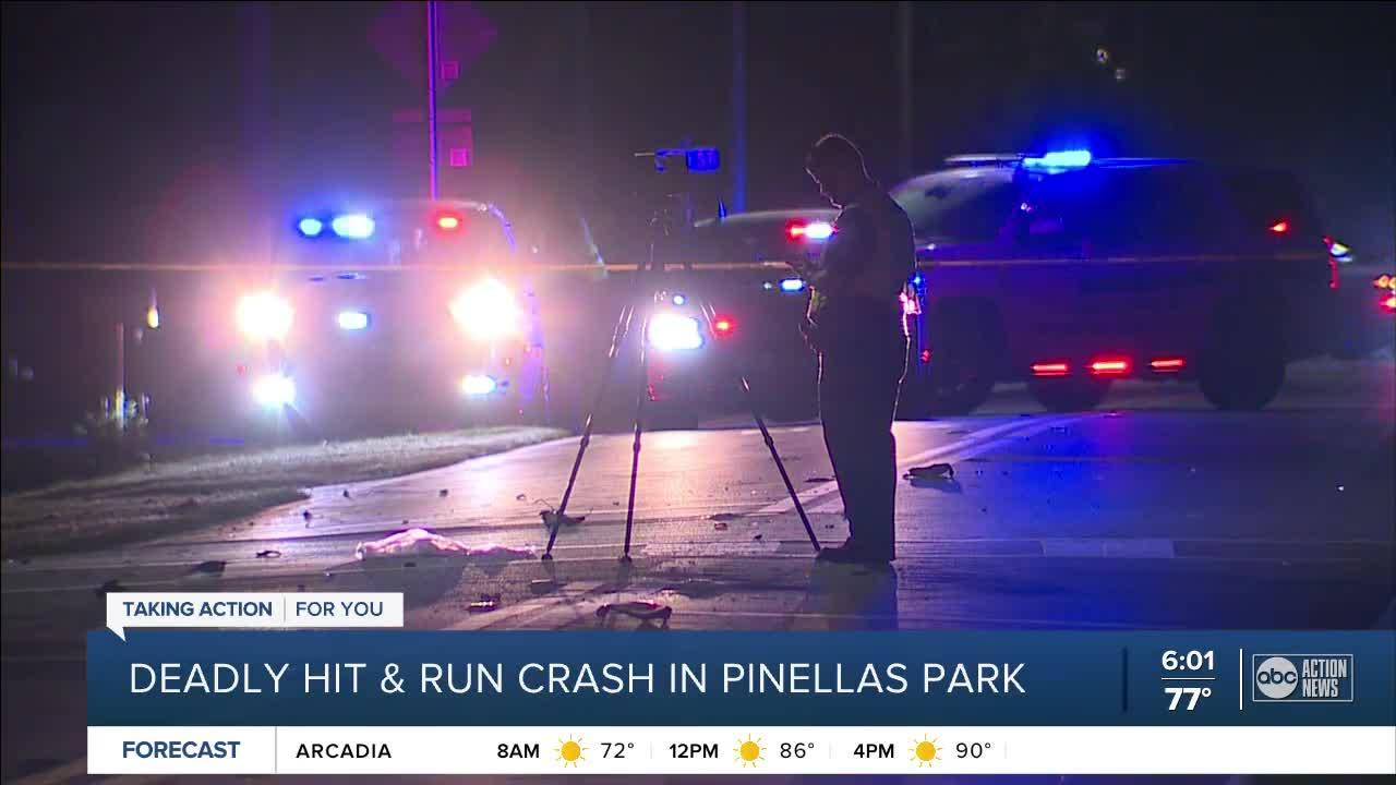 1 killed, another critically injured in Pinellas Park hit-and-run