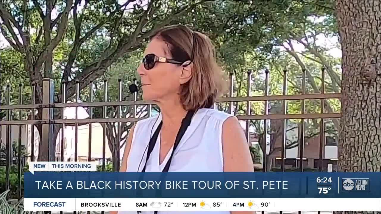 Black History Bike Tour of St. Petersburg is a free and eye-opening experience for the whole family