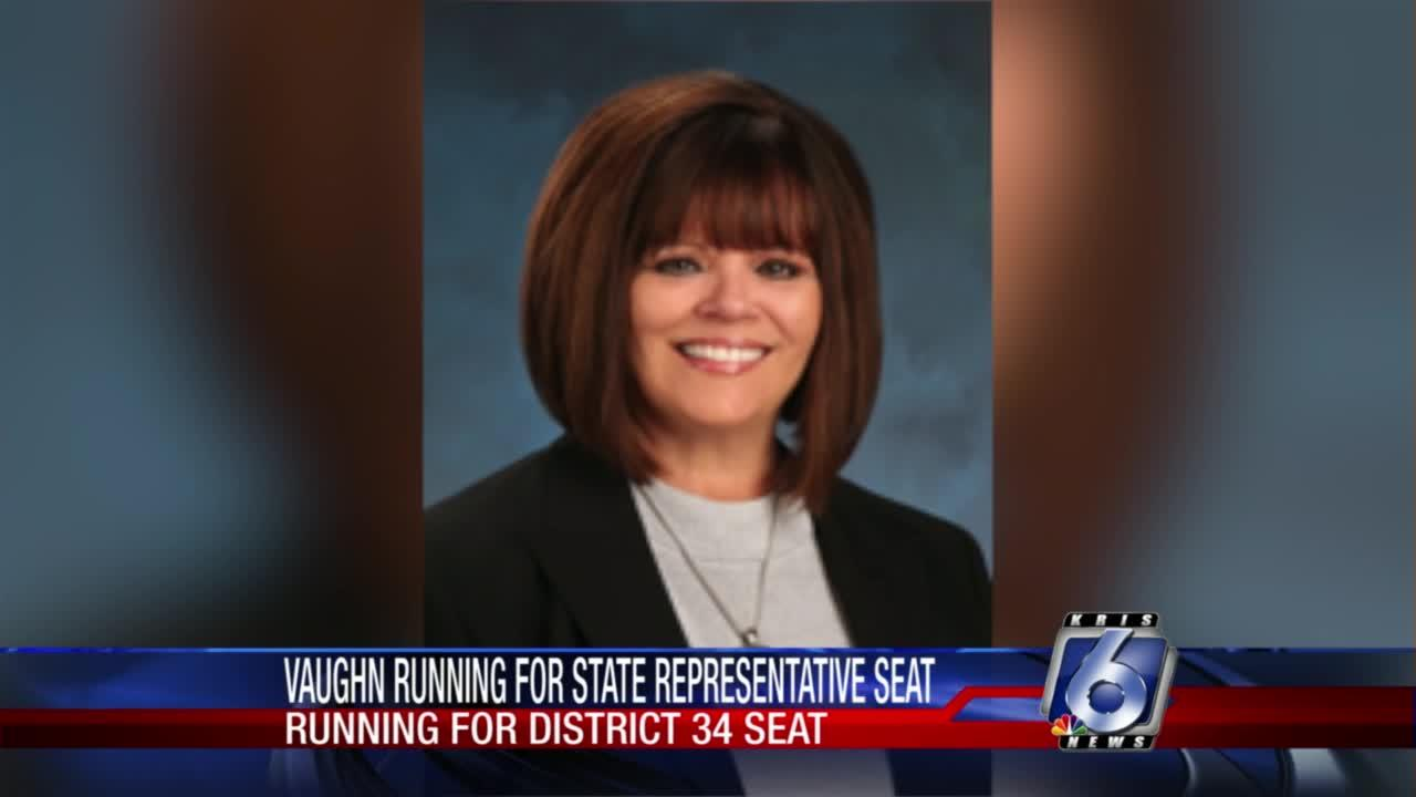 Vaughn announces run for District 34 state legislative seat