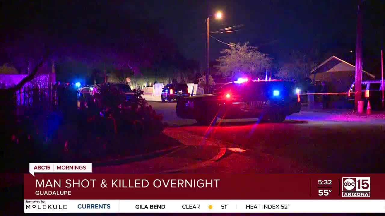 Man shot, killed in Guadalupe
