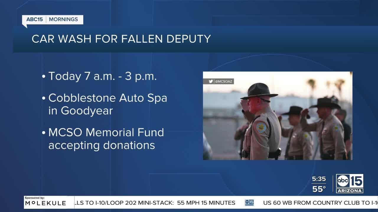 MCSO hosting car wash to raise money for family of Deputy Juan Ruiz