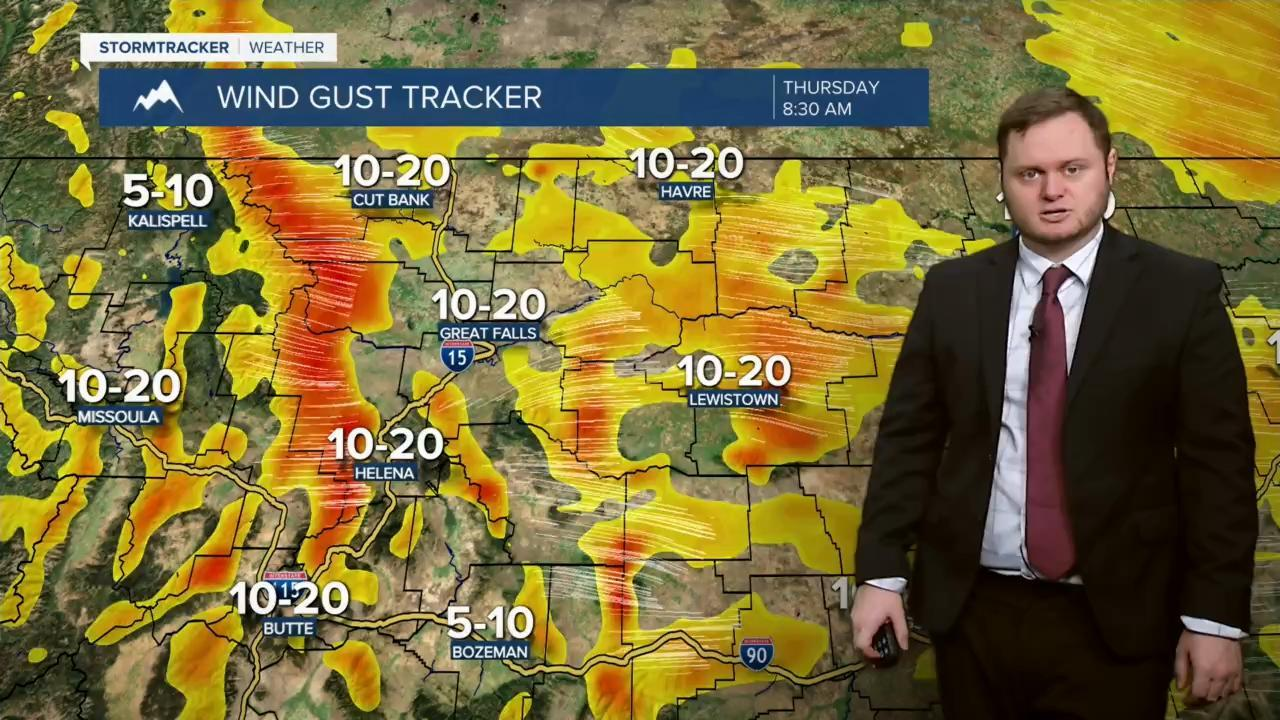 Windy conditions for your Thursday and Friday.