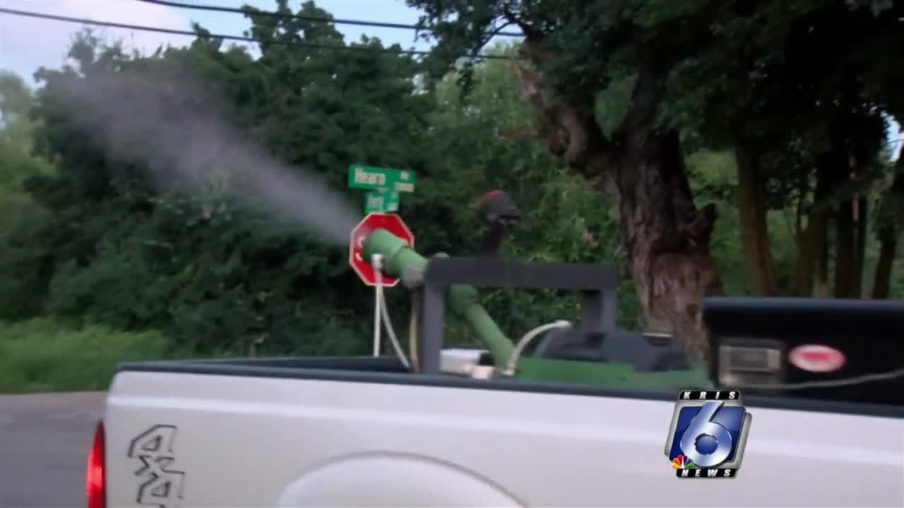 City announces October mosquito spraying schedule