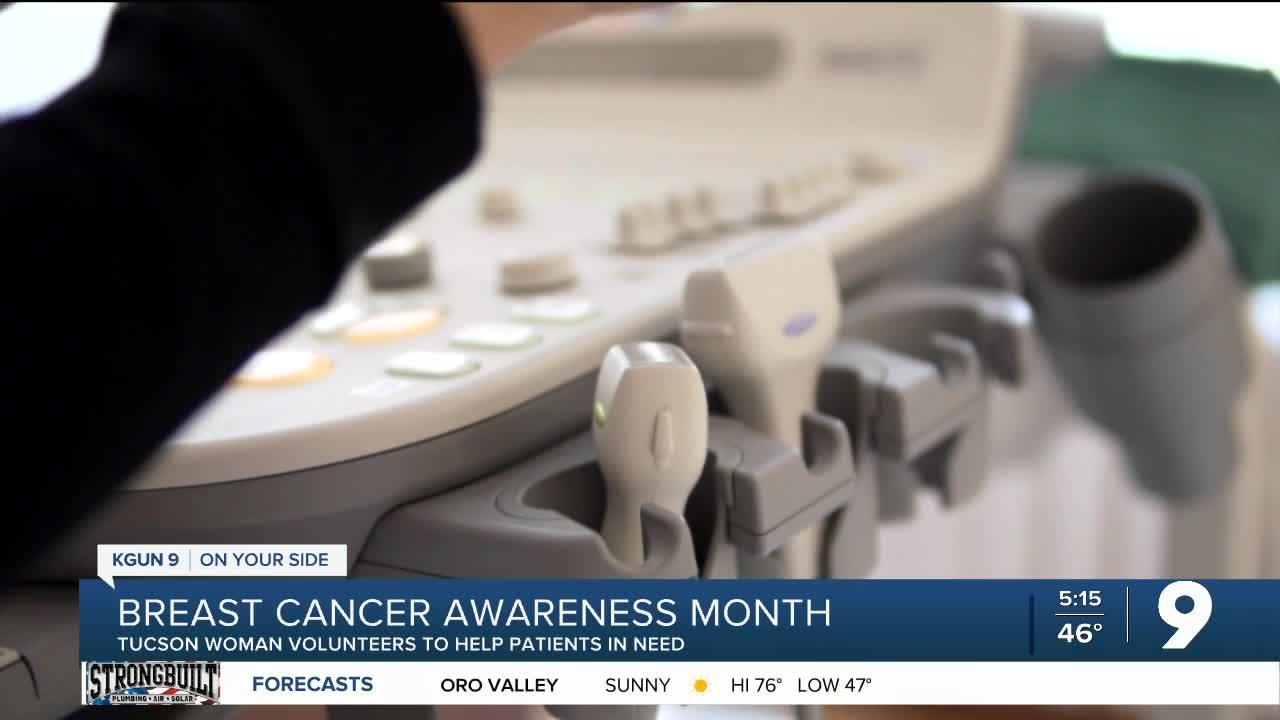 Tucson breast cancer ultrasound tech volunteers to help cancer patients cope