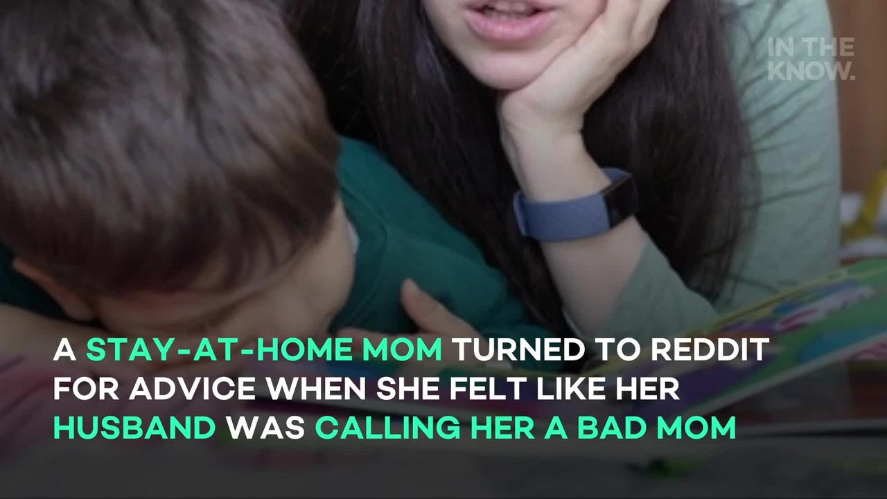 Stay-at-home mom gets 'so mad' when husband tries to parent their son