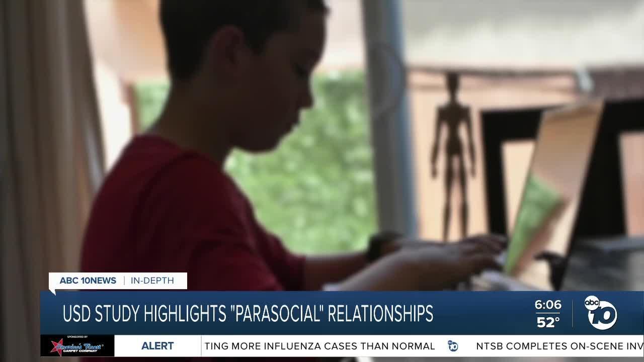 USD study highlights 'parasocial' relationships