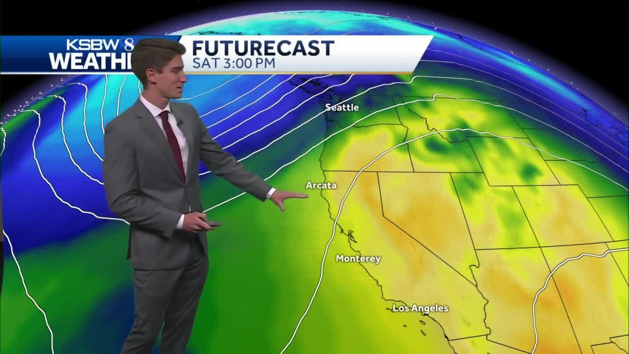 Warming Trend Begins with Mostly Sunny Skies Through the Rest of the Week