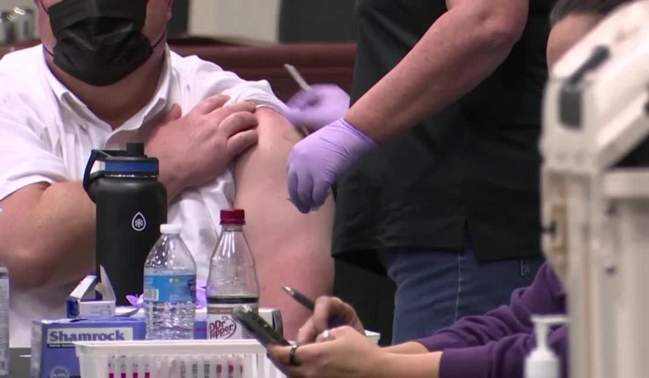 Butte vaccination clinic reports slow, steady stream of people