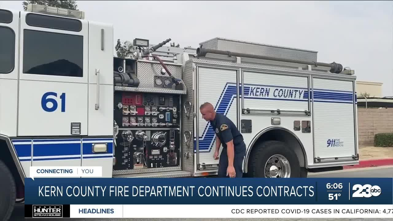 Kern County Fire Department continues contracts with Delano, Shafter, and Wasco